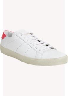 Saint Laurent Court Classic Low-Top Sneakers