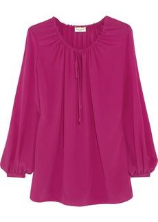 Saint Laurent Crepe de chine blouse
