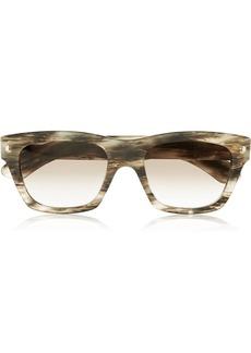 Saint Laurent D-frame printed sunglasses
