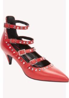 "Saint Laurent Embellished ""Cat Boot"" Pumps"