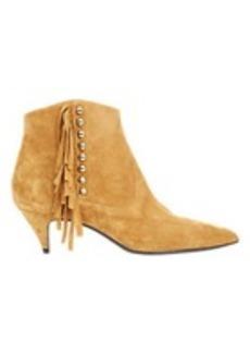 "Saint Laurent Embellished ""Cat"" Boots"