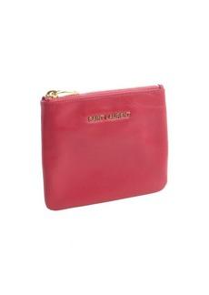 Saint Laurent fuchsia leather pouch