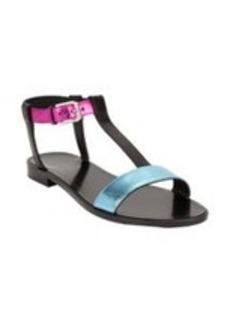 Saint Laurent Nu Pied T-strap Flat Sandal
