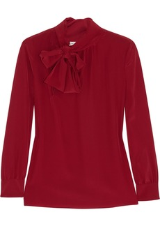 Saint Laurent Silk crepe de chine blouse