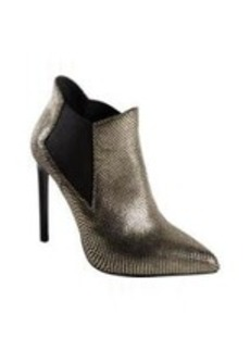 Saint Laurent Stamped Paris Pointed Toe Ankle Boot