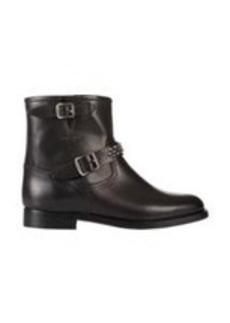 Saint Laurent Stud-Embellished Moto Boots