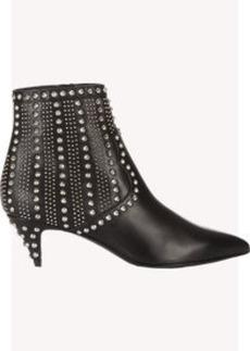 Saint Laurent Studded Cat Ankle Boots
