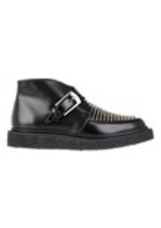 Saint Laurent Studded Monk-Strap Creepers