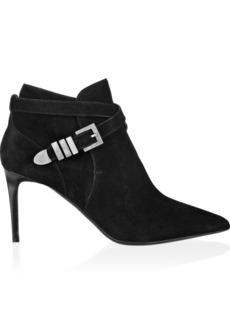 Saint Laurent Suede ankle boots