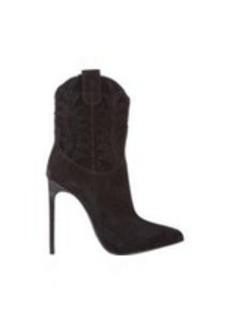 Saint Laurent Western-Stitched Paris Boots