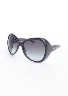 Yves Saint Laurent dark grey acrylic oversized 'Egypt' sunglasses