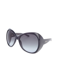 Yves Saint Laurent dark grey acrylic oversized 'Egypt' sunglasses