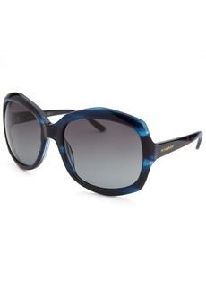 Yves Saint Laurent Women's Butterfly Blue Sunglasses