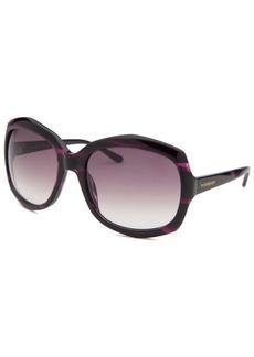 Yves Saint Laurent Women's Butterfly Purple Sunglasses