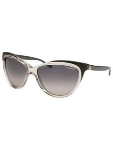 Yves Saint Laurent Women's Cat Eye Grey Sunglasses