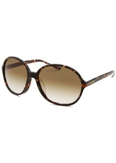 Yves Saint Laurent Women's Round Havana Sunglasses
