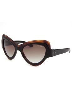 Yves Saint Laurent Women's Square White and Horn Sunglasses