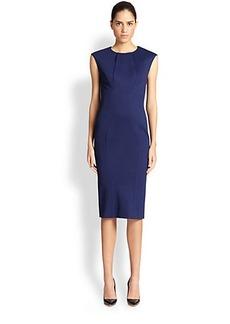 Zac Posen Bonded Jersey Dress