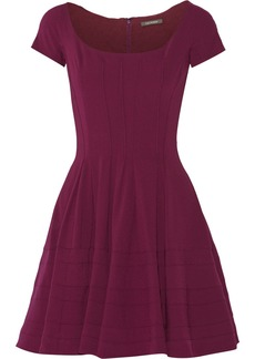 Zac Posen Crepe mini dress