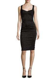 Zac Posen Jersey Sheath Dress