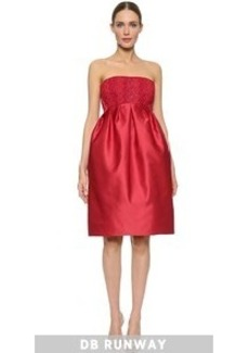 Zac Posen Strapless Dress