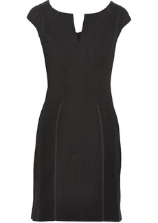 Zac Posen Textured-crepe dress
